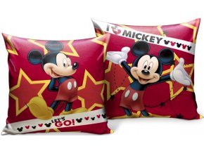 Polštář Mickey Mouse 35x35 cm oboustranný