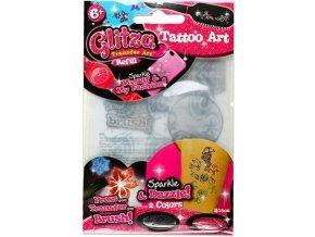 Glitza refill set třpytkový pudr a tetování