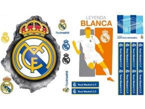 Samolepka na zeď FC Real Madrid