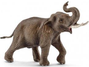 Schleich Slon Asijský samec 14754