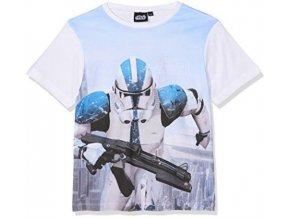 Dětské tričko Star Wars Stormtrooper bavlna bílé (Velikost 140 (10 let))
