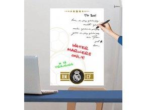 Samolepka na zeď tabule FC Real Madrid