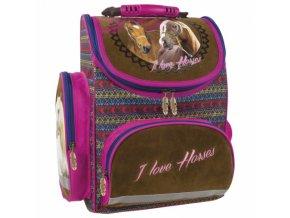 Školní batoh Koně