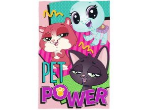 Fleece deka Littlest Pet Shop