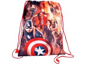 Sáček na přezůvky Avengers