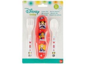 Dětský příbor Mickey baby