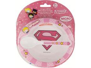 Jídelní sada Supergirl