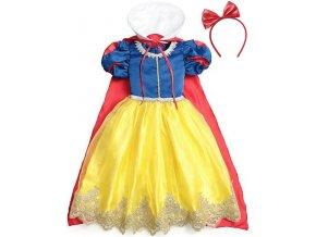 Kostým, šaty Sněhurka