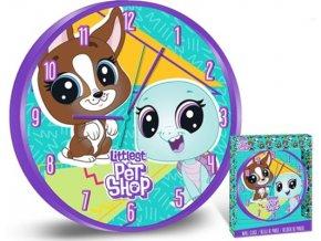 Nástěnné hodiny Littlest Pet Shop