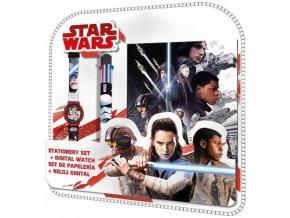 Sada hodinky propiska diář Star Wars