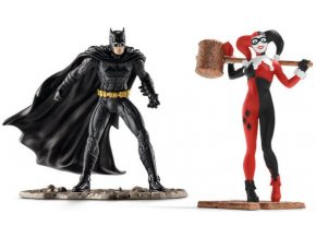 Schleich Justice League Batman a Harley Quinn 22514