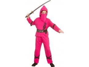 Dívčí kostým ninja