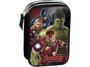 Penál Avengers plný
