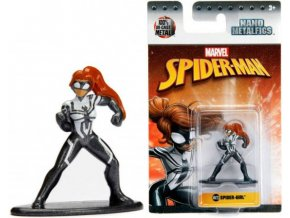 Nano Metalfigs figurka Spiderman Spider-girl kovová