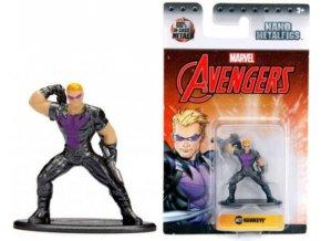 Nano Metalfigs figurka Avengers Hawkeye kovová