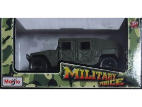 Maisto Military Force Humvee Green