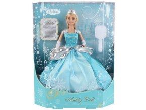 Panenka Princezna v plesových šatech