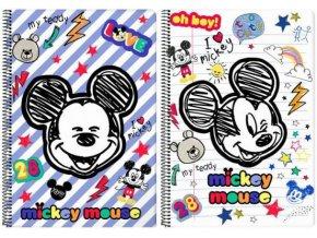 Sešit Mickey Mouse