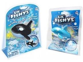 Lil' Fishys robotická ryba - velrybka s postřikem