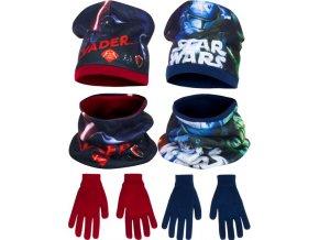 čepice, nákrčník, rukavice Star Wars