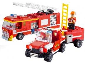 Lego stavebnice hasiči hasičská vozidla