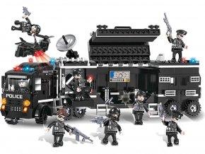 Lego stavebnice policejní zásahový swat kamion