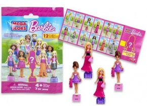 Mega Bloks figurky Barbie
