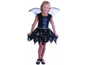 Dětský kostým víla vampírka