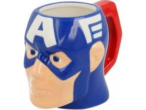 Keramický hrnek Avengers Captain America