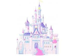 Samolepka na zeď Zámek Disney Princess princezny