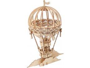 3D dřevěný puzzle Horkovzdušný balón