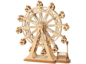 3D dřevěný puzzle Ruské kolo