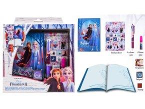 Kreativní sada - vytvoř si vlastní diář Frozen 2 Ledové království