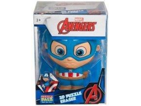Avengers Captain America 3D XL guma na gumování