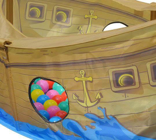 Dětský hrací stan bazén Skipper s míčky 50ks