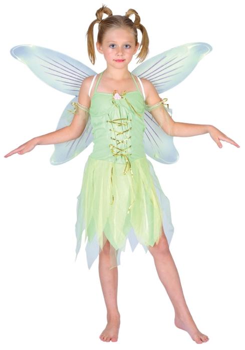 Fotografie Dětský kostým Víla 3 dílný set vel. S-XL S