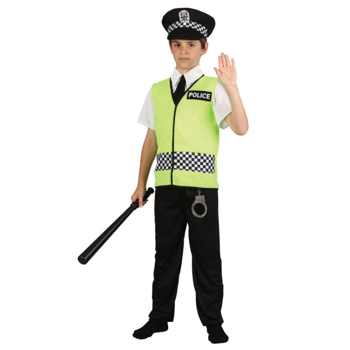 Dětský kostým Policista 3 dílný set S