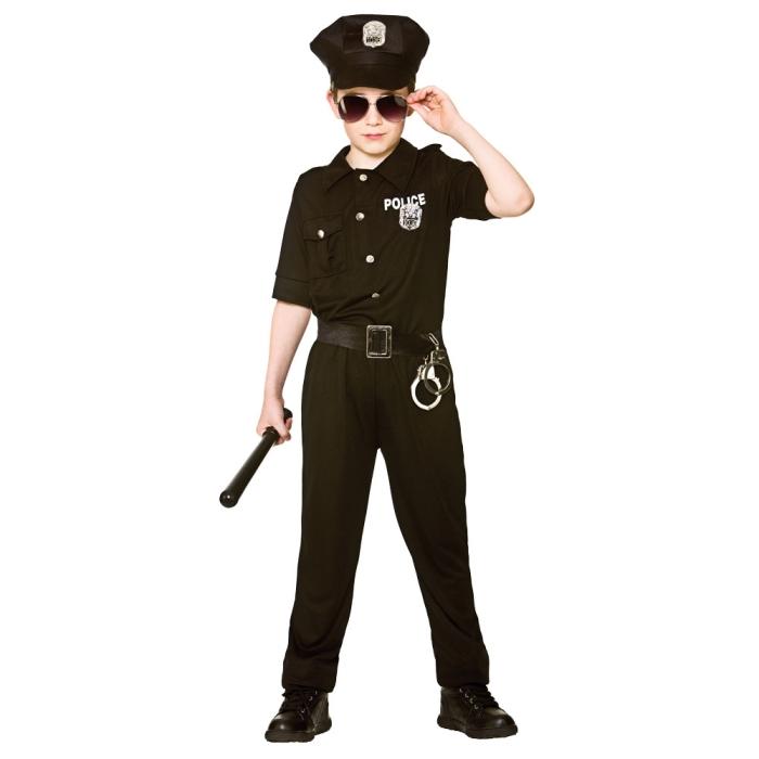 Dětský kostým Policista New York 4 dílný set vel. S-XL M