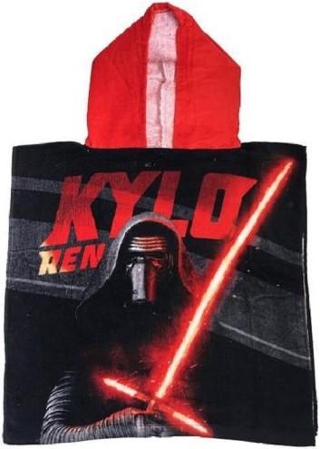 Pončo Star Wars s kapucí Kylo Ren bavlna 50x100 cm