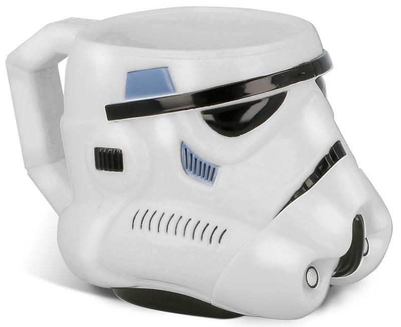 Fotografie Plastový hrnek Star Wars / hrneček Star Wars Stormtrooper 3D 315ml
