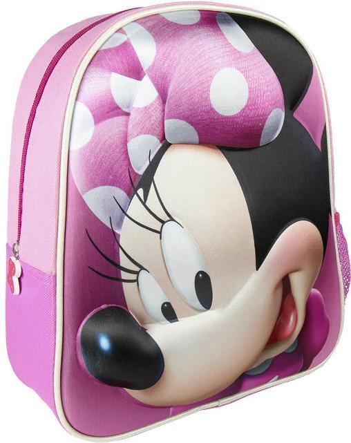Dětský batoh Minnie 3D 31 cm růžový