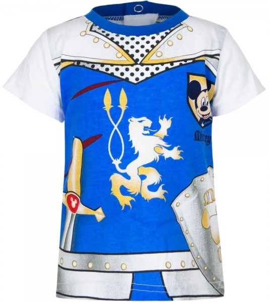 Dětské tričko Mickey Baby / kojenecké tričko Mickey Baby bavlna modré 6M (67cm)