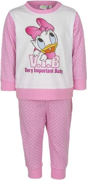 Kojenecké pyžamo / dětské pyžamo Disney Baby bavlna světle růžové Velikost: 12M (74cm)