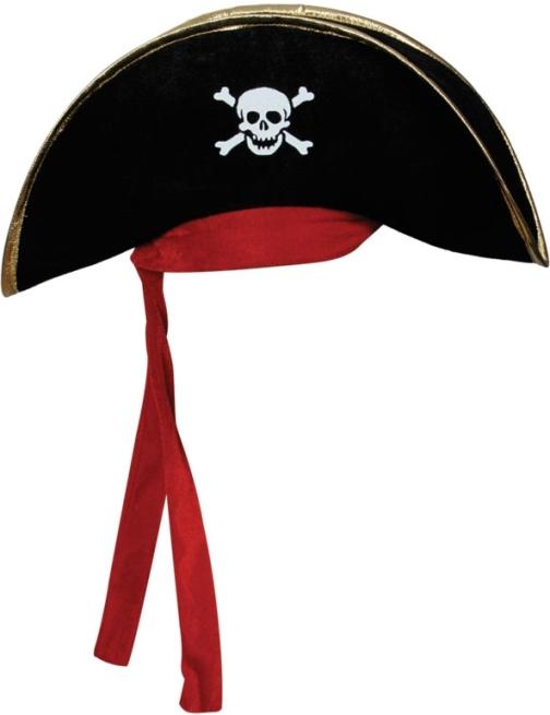 Pirátský klobouk pirátský kapitán 4ad1b7cf85