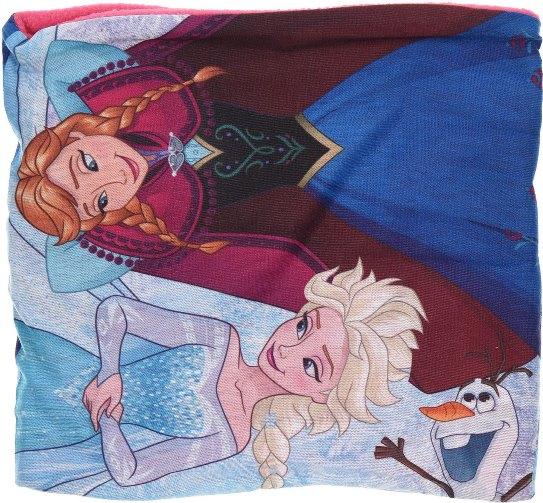 Šála Frozen / nákrčník Frozen Anna a Elsa zateplený