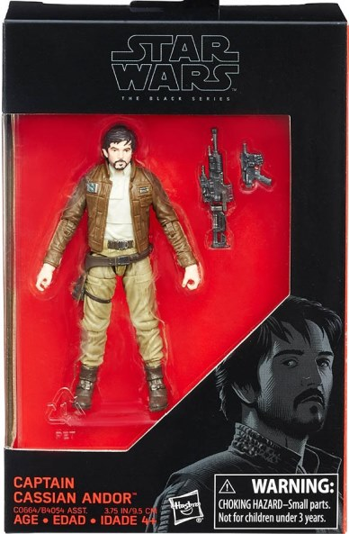 Star Wars The Black Series figurka Captain Cassian Andor 10cm