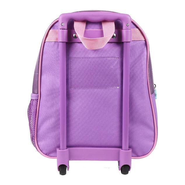 Kufr na kolečkách Frozen 3D 31cm růžový