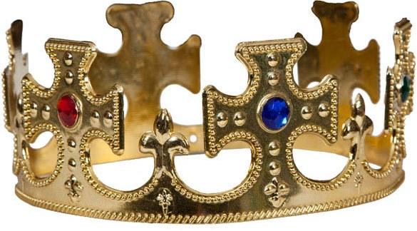 Královská koruna s rubíny