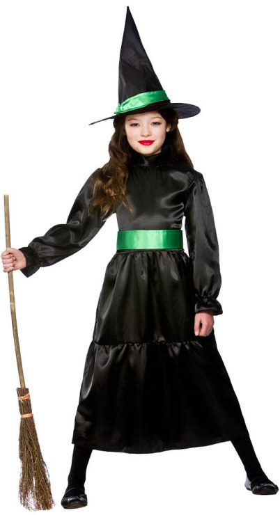 Dětský kostým Čarodějnice 3 dílný set M