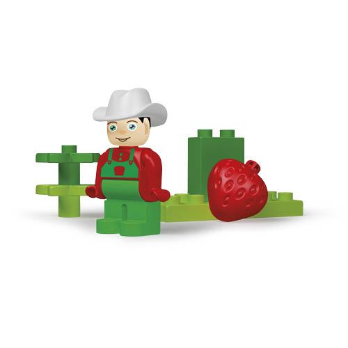 Unico Plus stavebnice Farma typ LEGO DUPLO 21 dílů